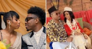 Ex BBNaija Housemates Ike and Mercy Traditional Videos Leak (SEE VIDEO)