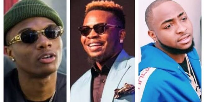 Wizkid Outshines Olamide and Davido in Best Artiste of the Decade