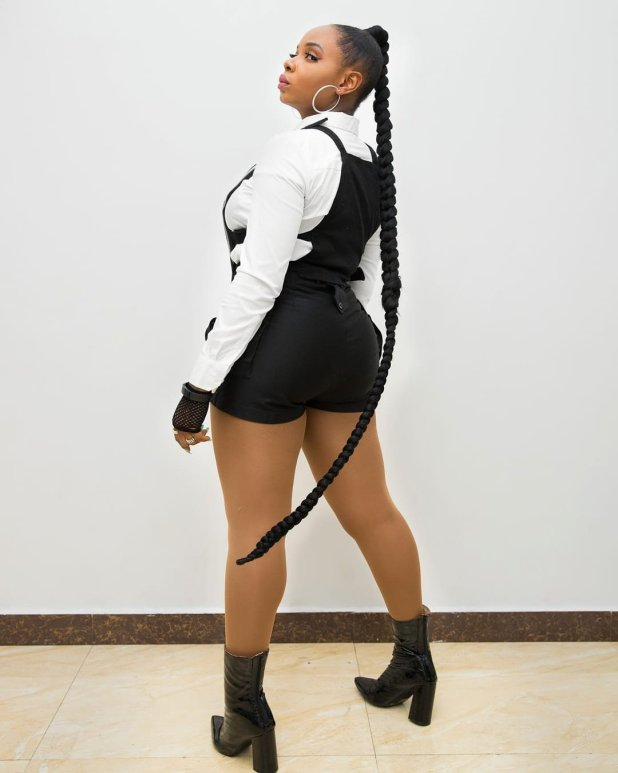 Yemi Alade Shares Adorable Pictures on Displaying her Bum Bum [PHOTOS]