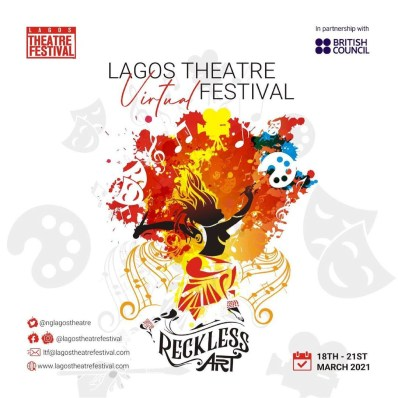 Lagos Theartre Festival 2021 Promises Artistic Magic With Reckless Art
