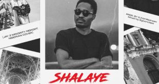 John NetworQ - Shalaye (Minority Report Nigerian Cover)