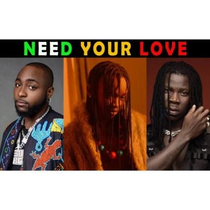 Ayanfe – Need Your Love ft. Davido x Stonebwoy