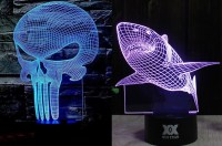 3D Illusion Table Lamps - Ultimate LED Lamp - Legit Gifts