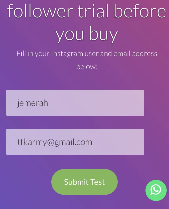 free instagram followers trial Legit hacks