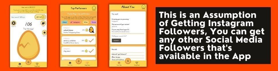 social media followers tappy app