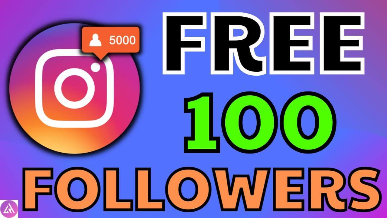 100 free instagram followers
