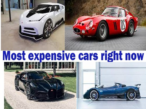 List Of Most Expensive Cars In The World right now.