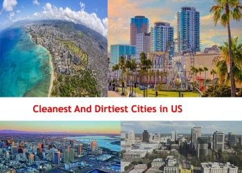 Top 15 Cleanest and Dirtiest Cities in US 2021