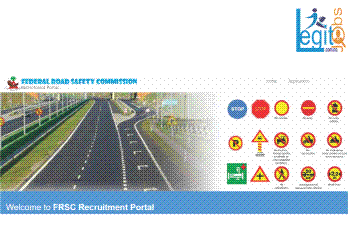 Federal Road Safety Corps {FRSC} Nationwide Massive Recruitment {8 Positions}