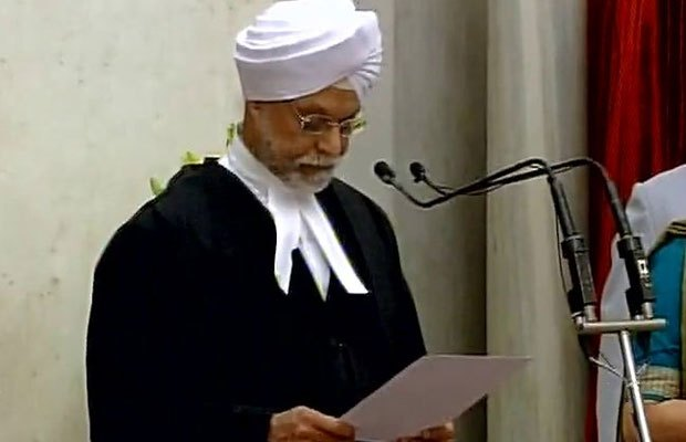 Jagdish Singh Khehar 1st Sikh to be sworn-in as the Chief Justice of India