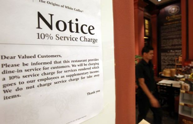 Service charge: Don't eat if you don't want to pay, says restaurants' body