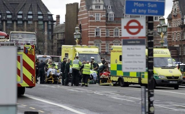 Five dead and 40 injured in terror attack outside U.K. Parliament