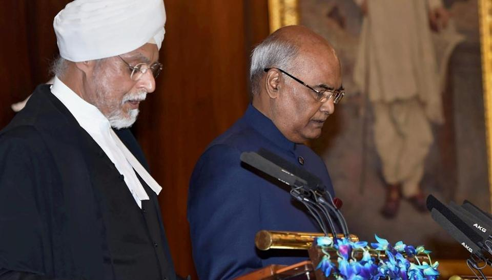 Ram Nath Kovind's Oath Ceremony Smacks of Hindutva