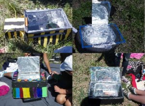 Lots of great solar oven ideas, and almost all of them worked!