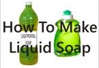 make liquid soap