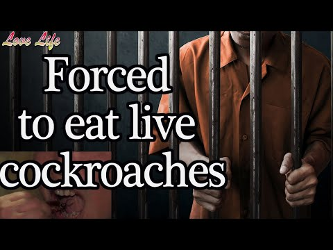 forced to eat live cockroaches