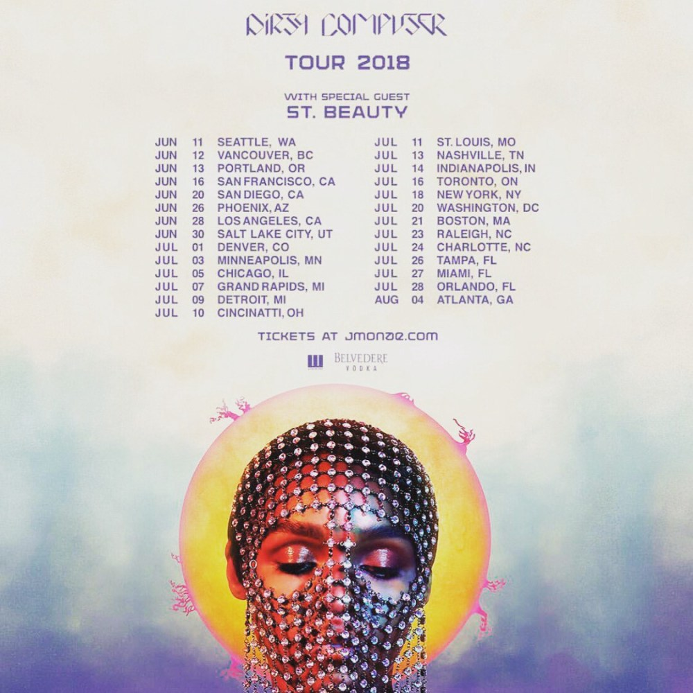 Image result for dirty computer tour janelle