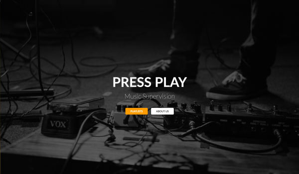 Press Play Music Supervision