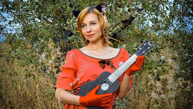 Black Miniature ukulele