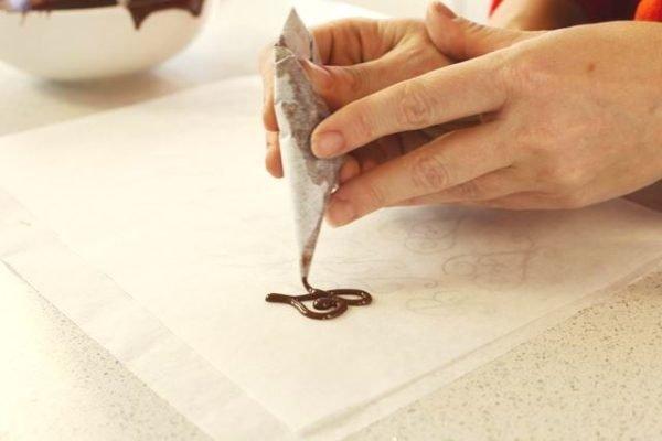 Rajz csokoládéval