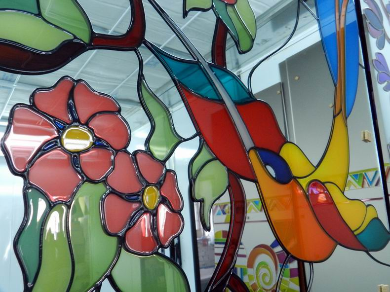 post_59b128b318d4c Мозаичное стекло, как материал для творческого процесса своими руками. Мозаика из стекла своими руками для кухни и в ванной с фото и видео Эскизы для мозаики из битых стекол