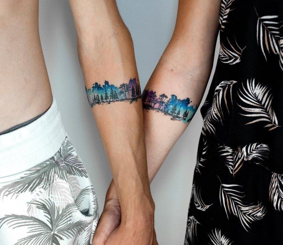 акварельные татуировки для девушек фото тату и описания