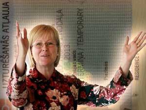 Покупка дома у Жанеты Яунземе-Гренде, помогла получить вид на жительство в Латвии