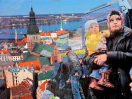 Беженцы из Украины в Латвию просят убежища