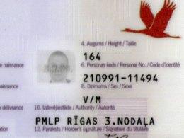Идентификационный номер в Латвии будет изменен