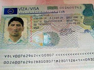 Российским гражданам необходима виза Шенген в Латвию