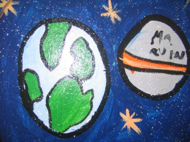 Une planète bien verte vue par un enfant de Laval (Mayenne)