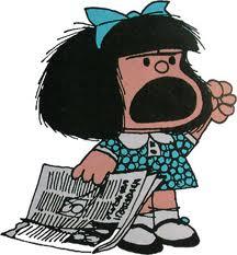La jeune Mafalda (de Quino) réagit!