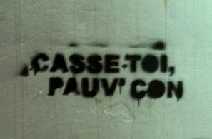Capturé sur un mur à Rennes