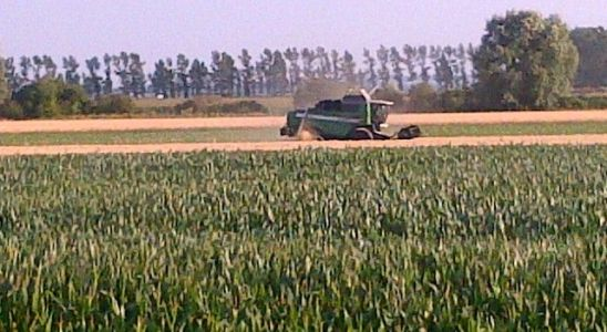 Agriculture intensive et hyper mécanisée