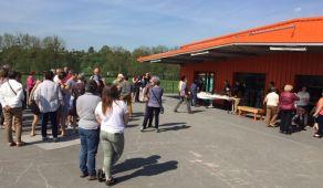 Jour de fête pour l'inauguration de l'École publique Victor Hugo