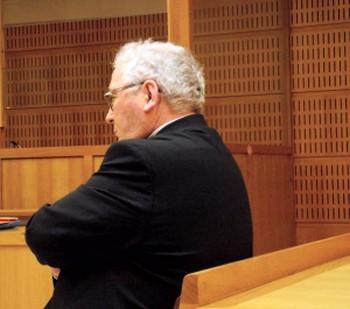 Richard Flament, lors de son procès le jeudi 14 juin 2018