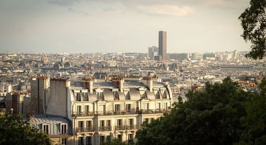La tour Montparnasse vue de loin