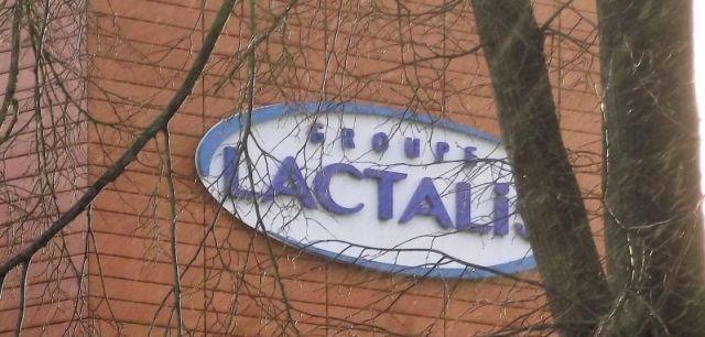 Le logo de Lactalis à Laval