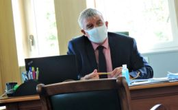 Denis Waleckx dans son bureau