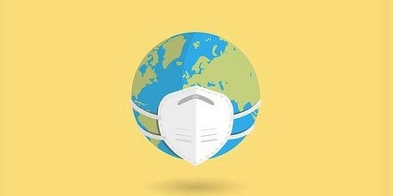 Le globe est masqué en raison du covid-&ç