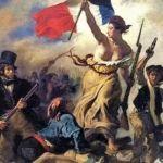 la liberté guidant le peuple de Delacroix
