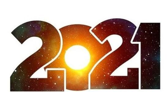 L'image du nouvel an 2021