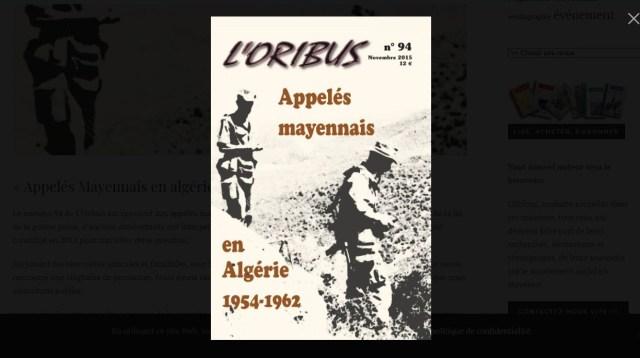 la couverture du n°94 de L'Oribus