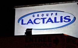 L'enseigne du groupe Lctalis a Laval en Mayenne