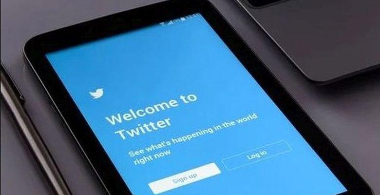 Twitter sur un smartphone