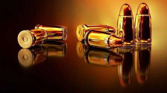 Des cartouches de calibre 9MM