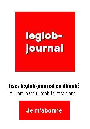 Pavé appel a abonnement leglob-journal