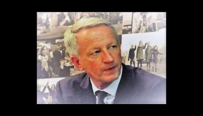 Le président du Département Mayenne Olivier Richefou