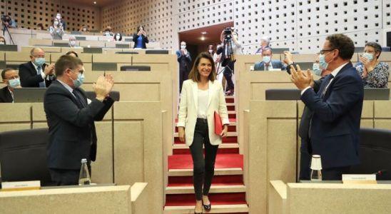 La présidente d ela Region Christelle Morançais