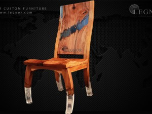 Resin chair